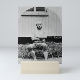 Young Teddy Roosevelt Shirtless - 1879 Mini Art Print