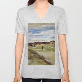 Bleaching Ground At Scheveningen - Digital Remastered Edition Unisex V-Neck