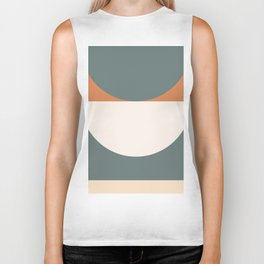 Abstract Geometric 03 Biker Tank
