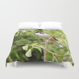 Red-Whiskered Bulbul -- 2 Duvet Cover
