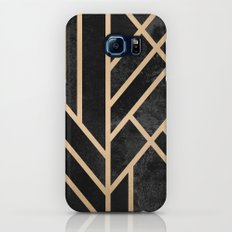 Art Deco Black Galaxy S8 Slim Case