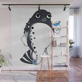 Drunken Fugu Wall Mural