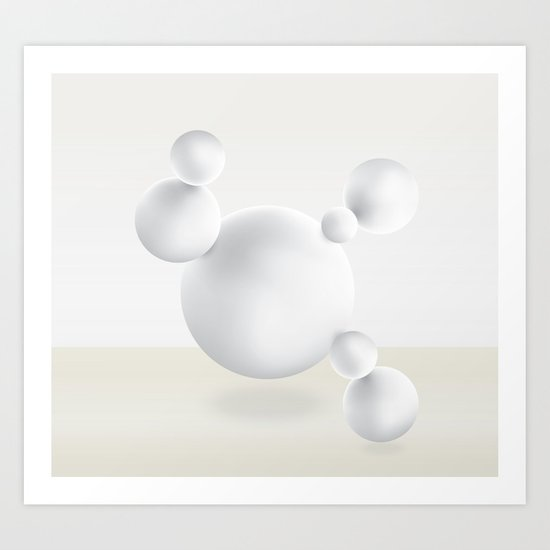 Spheres of Inception Art Print