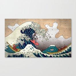 Surfin Japan Canvas Print