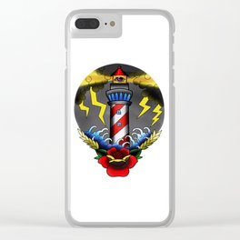 The Lighthouse Clear iPhone Case