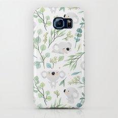 Koala and Eucalyptus Pattern Slim Case Galaxy S6