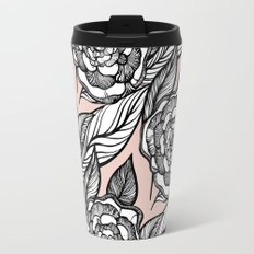 rose flowers pattern Travel Mug