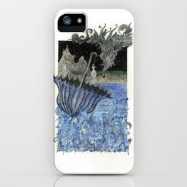 Current Express iPhone Case