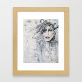 Apache Woman Framed Art Print