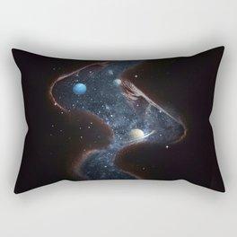 Universe kiss Rectangular Pillow