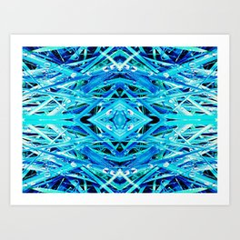 Blue Drop Art Print