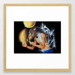 Seshat´s husband Framed Art Print