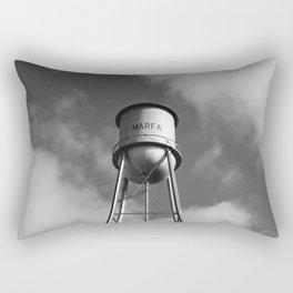 Monochrome Marfa Water Tower Rectangular Pillow