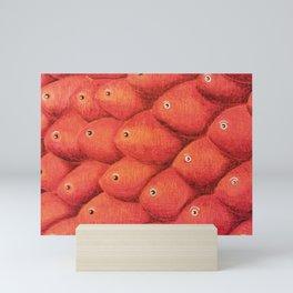 Red shoal Mini Art Print