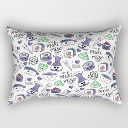 Galaxy Sushi Rectangular Pillow