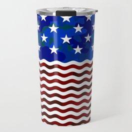 USA (Camouflage) Travel Mug
