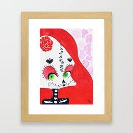 SugarSkull II Framed Art Print
