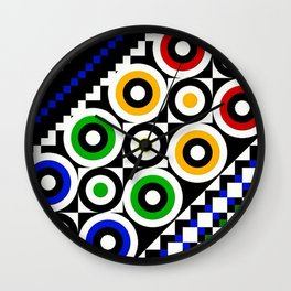 Forever Colorful Wall Clock