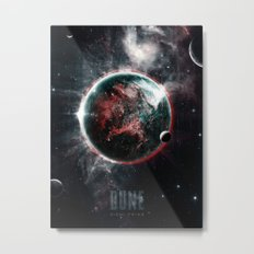 Dune Geidi Prime Planet Poster Metal Print