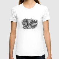cats T-shirts featuring Cats by Andreas Derebucha