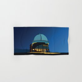 Soviet Modernism: Byurakan Observatory after Viktor Hambardzumyan Hand & Bath Towel