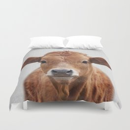 Cow 2 - Colorful Duvet Cover