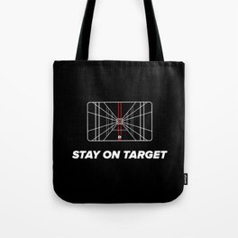 Stay on target Tote Bag