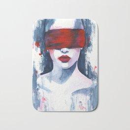 Blind love is  Bath Mat