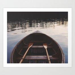 Majestic River Ride Art Print