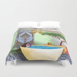 Bath v1 Duvet Cover