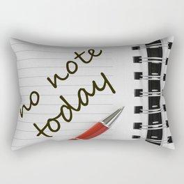 note book Rectangular Pillow