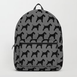 Wire Fox Terrier Silhouette(s) Backpack