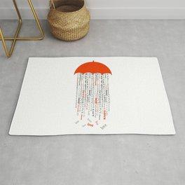 love rain  Rug