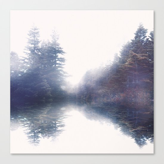 Serene reflections Canvas Print