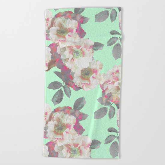 Fresh Garden Beach Towel