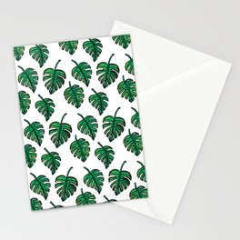 GREEN PLANTS Stationery Cards