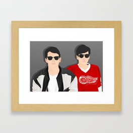 Save Ferris Framed Art Print