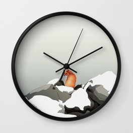 Solitude II Wall Clock