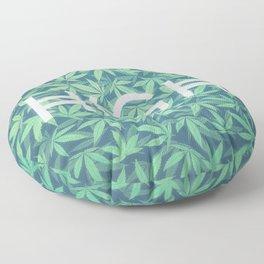 HIGH TYPO! Cannabis / Hemp / 420 / Marijuana  - Pattern Floor Pillow