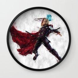 Thor Hero Wall Clock