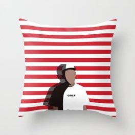 Tyler The Creator GOLF Throw Pillow