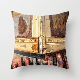 Old Ford Pickup Truck Throw Pillow