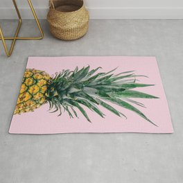 Pineapple in Pink Rug