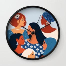Women Empowerment Wall Clock