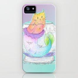 Pet Purrmaid iPhone Case