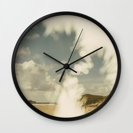 Double Summer Wall Clock