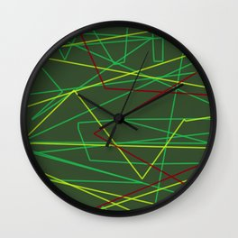 Laserbeam Wall Clock