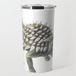 Green Ankylosaurus Travel Mug