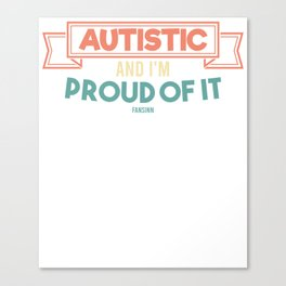 Autism particularly developmental disorder Canvas Print
