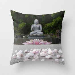 A Vision Of Inner Peace Throw Pillow